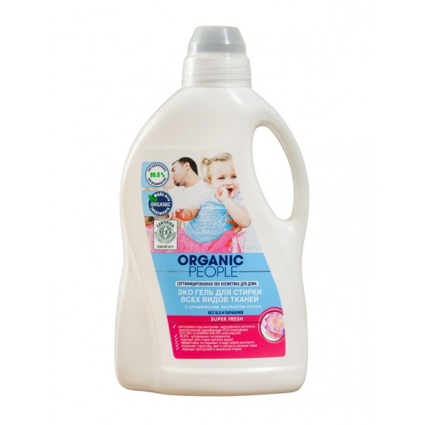 ORGANIC PEOPLE/ ��� ���� ��� ������ ���� ����� ������ � ������������ ���������� ������ SUPER FRESH, 1,5 �