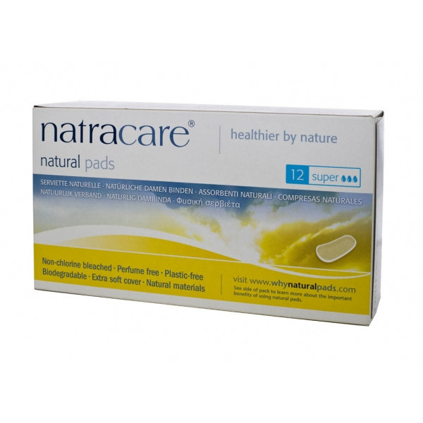 Natracare/ ������������� ��������� �Super Pads�, 12 ��.